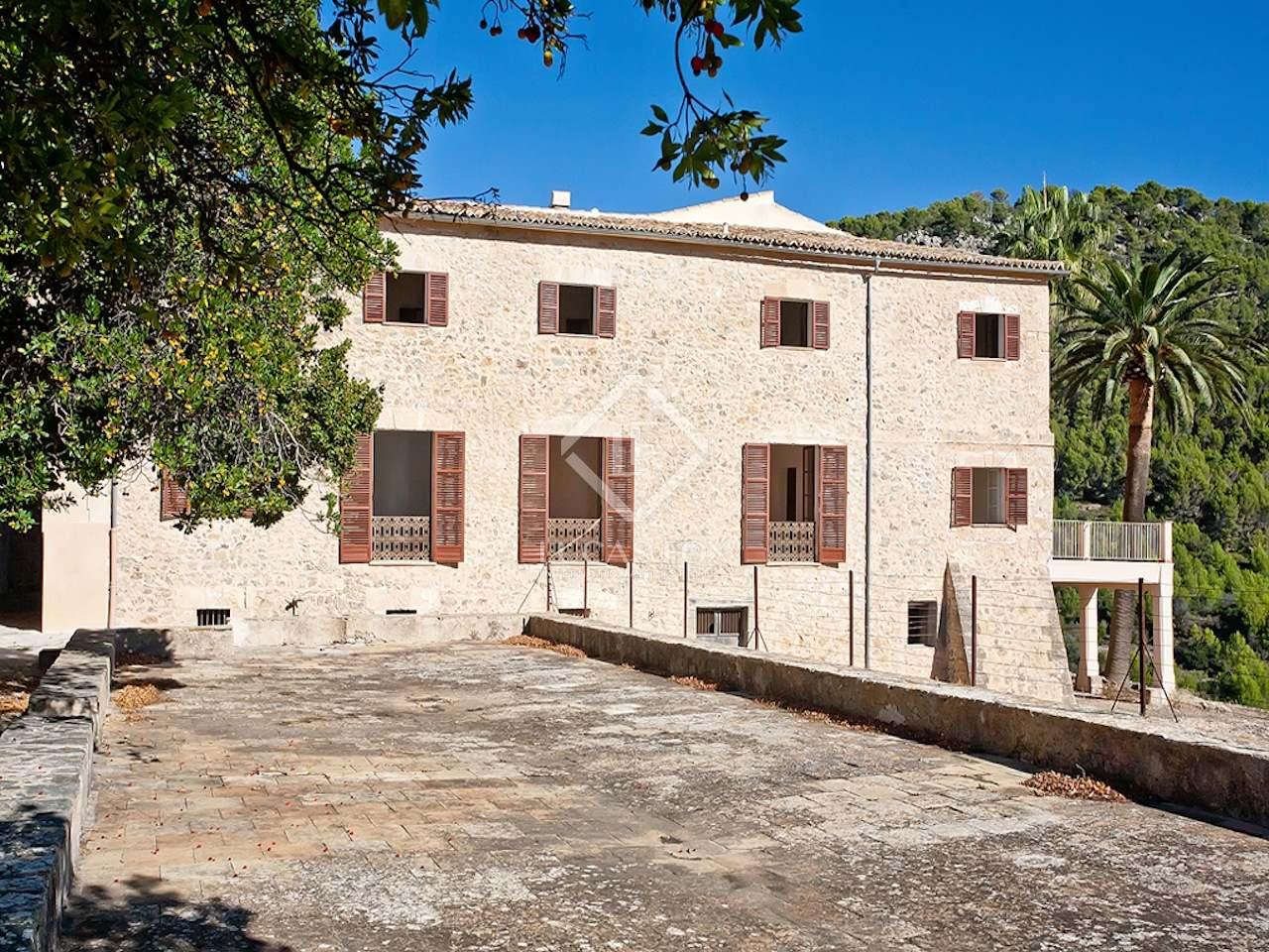 Casa rural en venta en puigpunyent en el oeste de mallorca - Casas para alquilar en mallorca ...