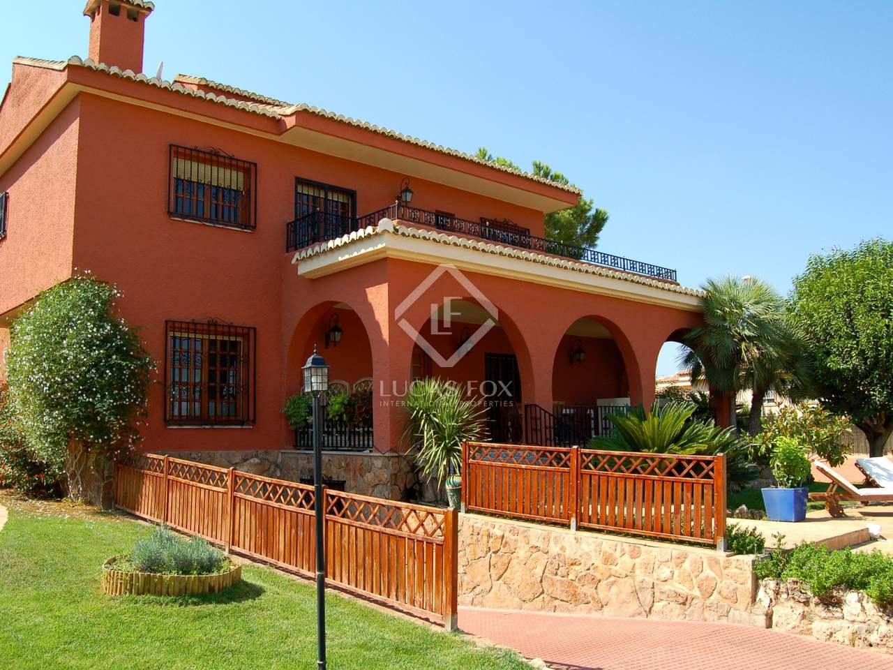 340m villa for sale in la eliana valencia for Villas valencia