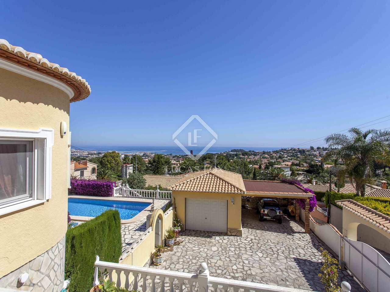 Villa con terraza y bonitas vistas al mar en venta en d nia for Terrazas 1280 a