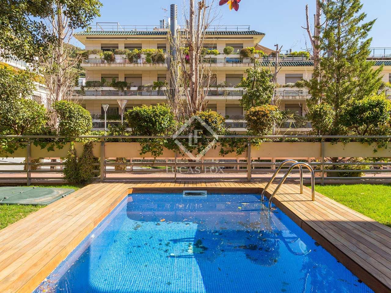 Casa en alquiler en la zona alta de barcelona for Casa con jardin alquiler barcelona