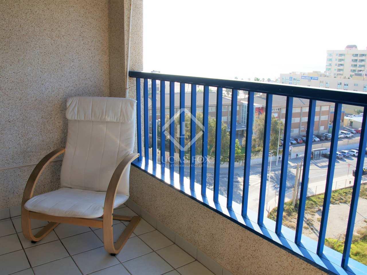 Apartamento de 70m con terraza en alquiler en la patacona for Piscina patacona