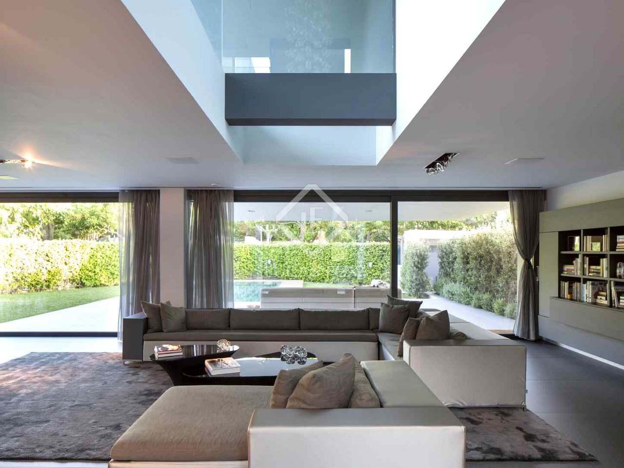 Casa de de 5 dormitorios en alquiler en sant cugat cerca de barcelona - Casas en alquiler cerca de barcelona ...