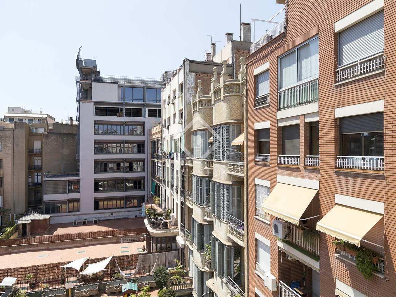 Tico en alquiler en el distrito del eixample de barcelona - Atico eixample barcelona ...