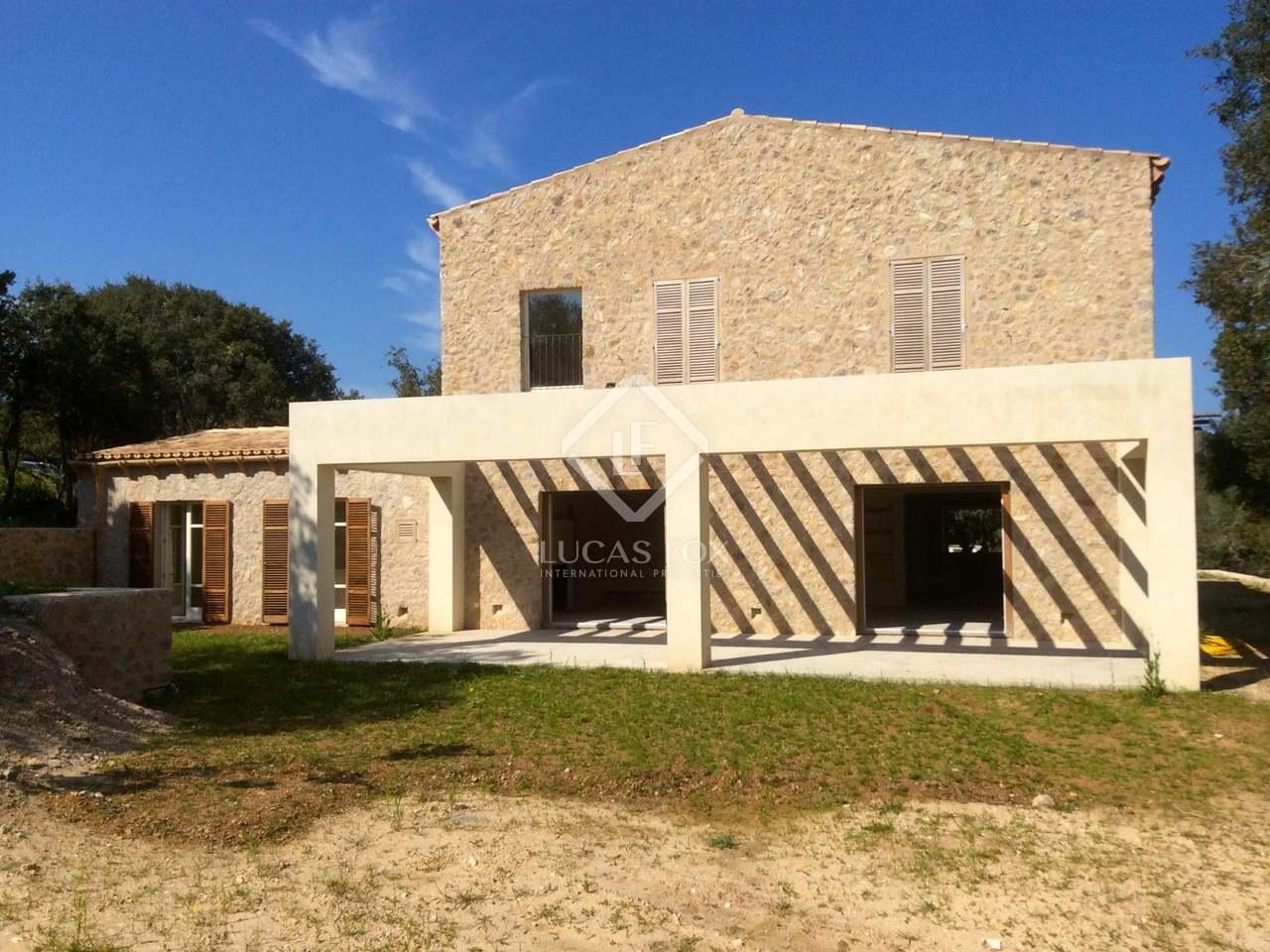 Casa de nueva construcci n en venta en art mallorca - Empresas de construccion en mallorca ...