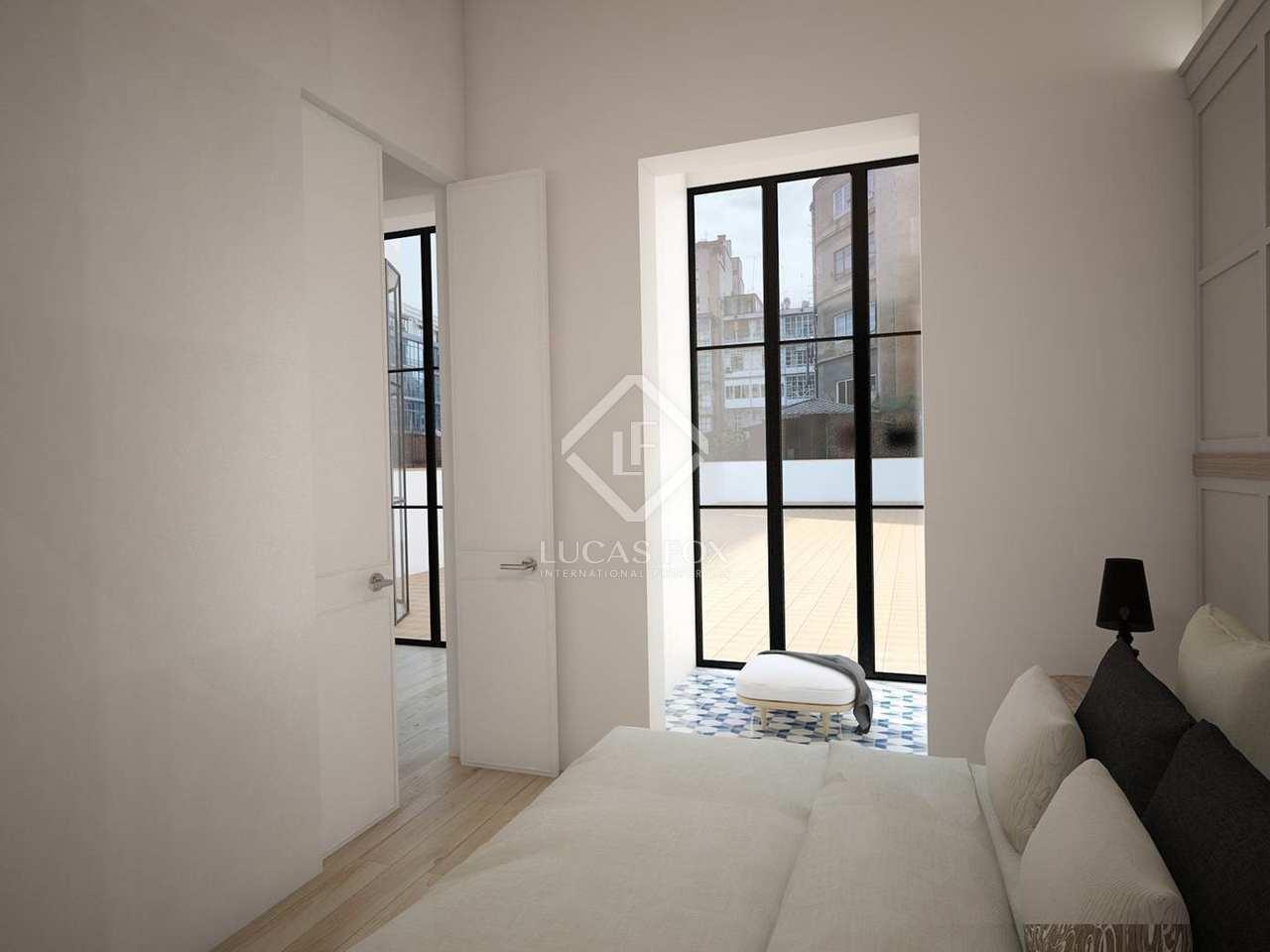 134m wohnung mit 167m terrasse zum verkauf in eixample. Black Bedroom Furniture Sets. Home Design Ideas