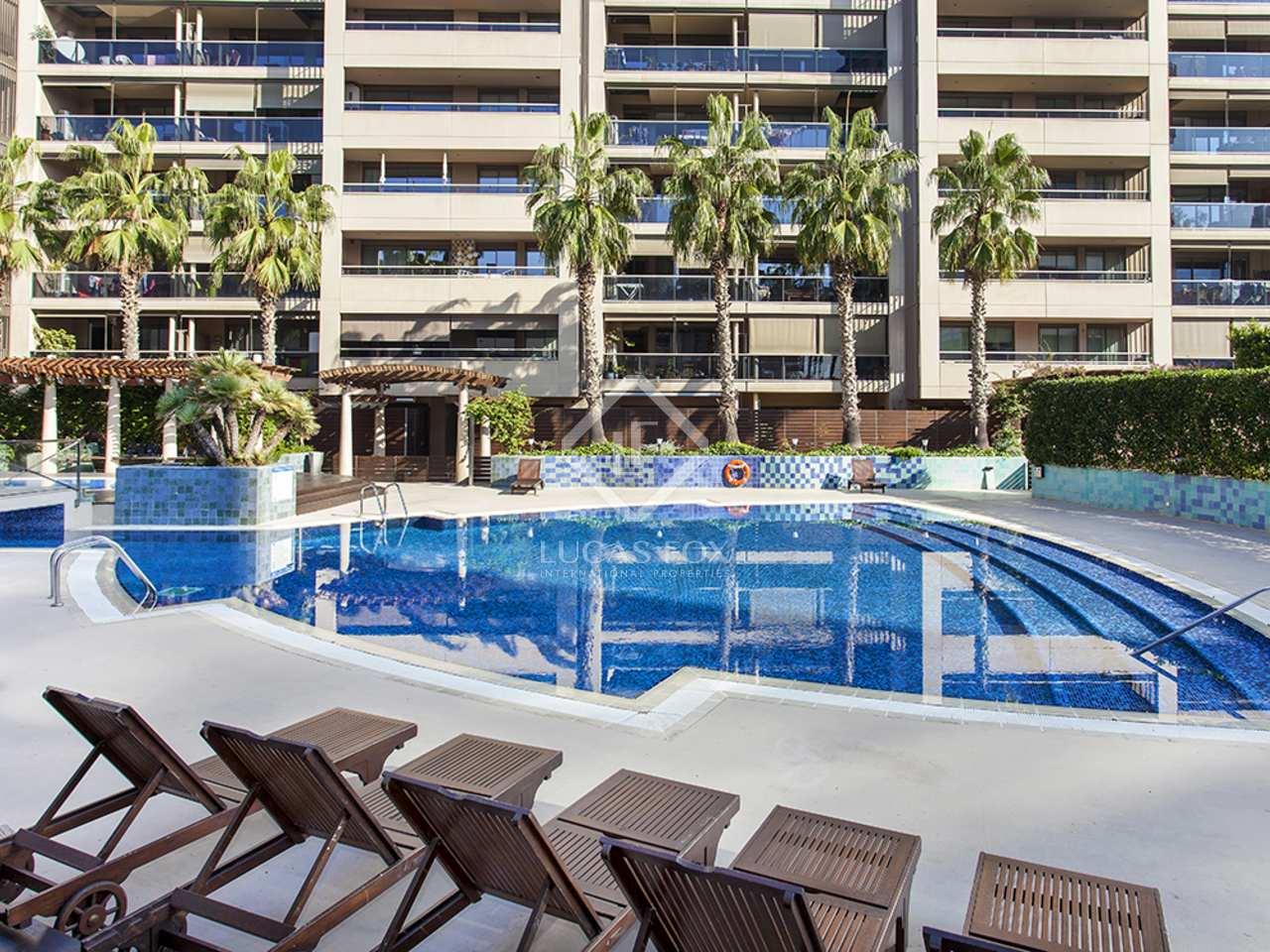 Appartement de 81m a louer diagonal mar avec 16m terrasse for Appartement a louer a barcelone avec piscine