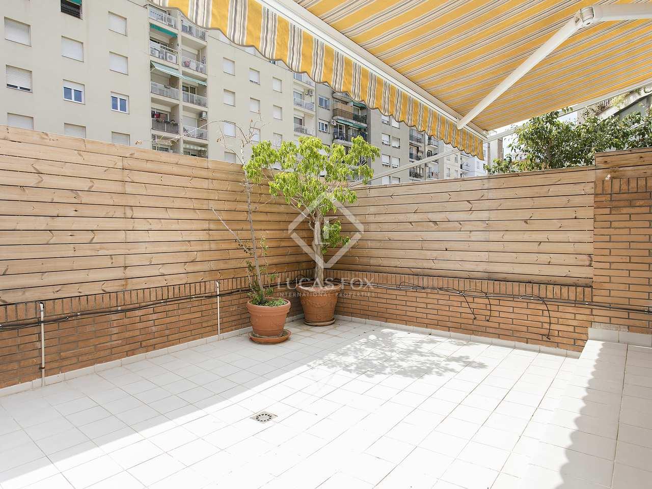 Casa de 145 m con 55 m de terrazas en alquiler en les corts for Casa con jardin alquiler barcelona