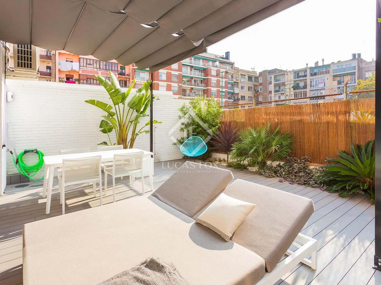 Apartamento con terraza en venta en calle aribau for Terrazas 1280 a