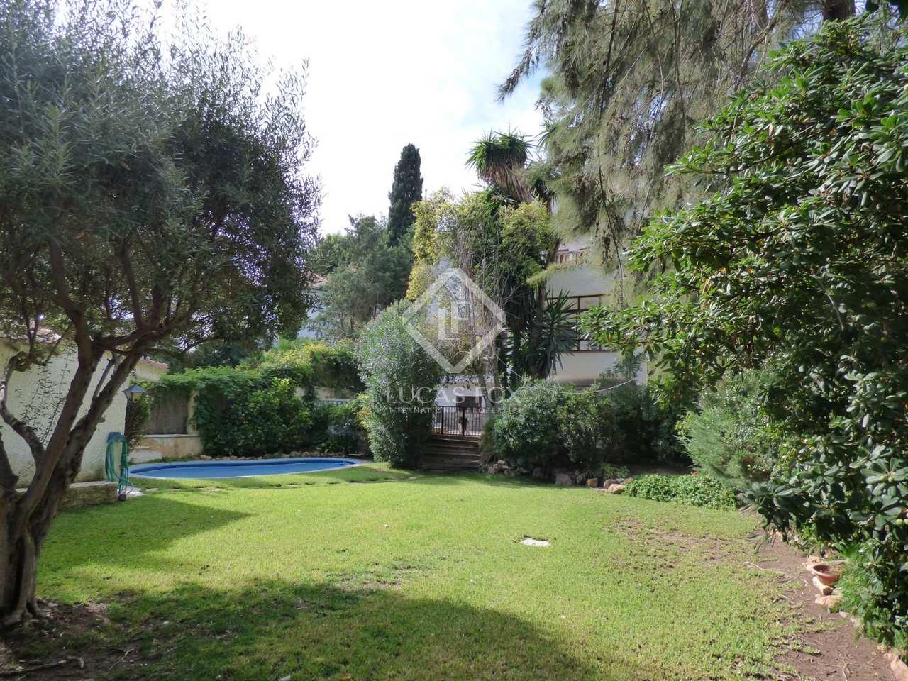 Maison villa de 496m a vendre godella rocafort avec for Jardin anglais caracteristiques