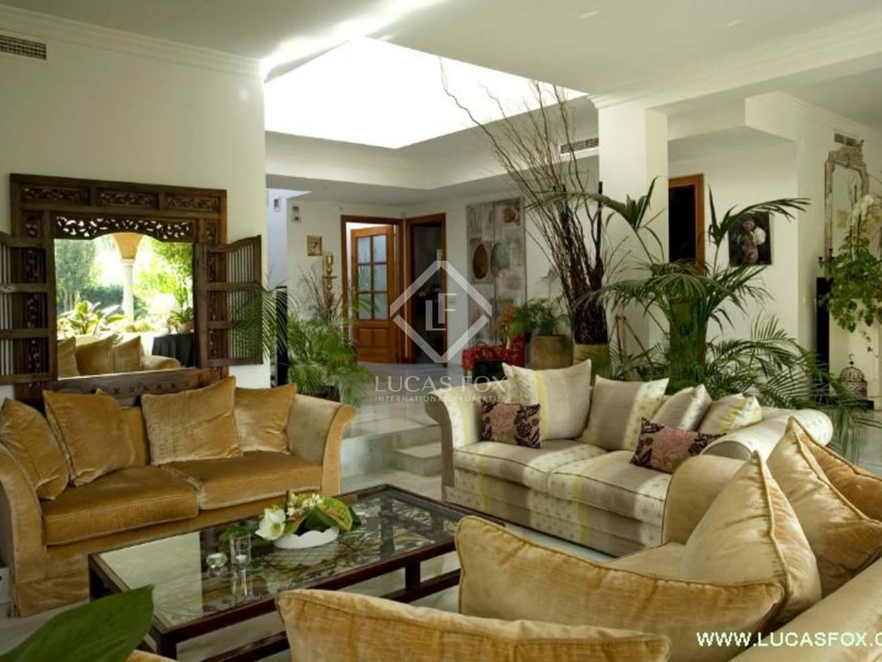 maison villa de 340m a louer sant cugat barcelone. Black Bedroom Furniture Sets. Home Design Ideas