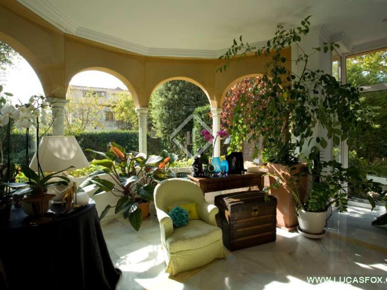 Maison villa de 340m a louer sant cugat barcelone - Location maison piscine barcelone ...