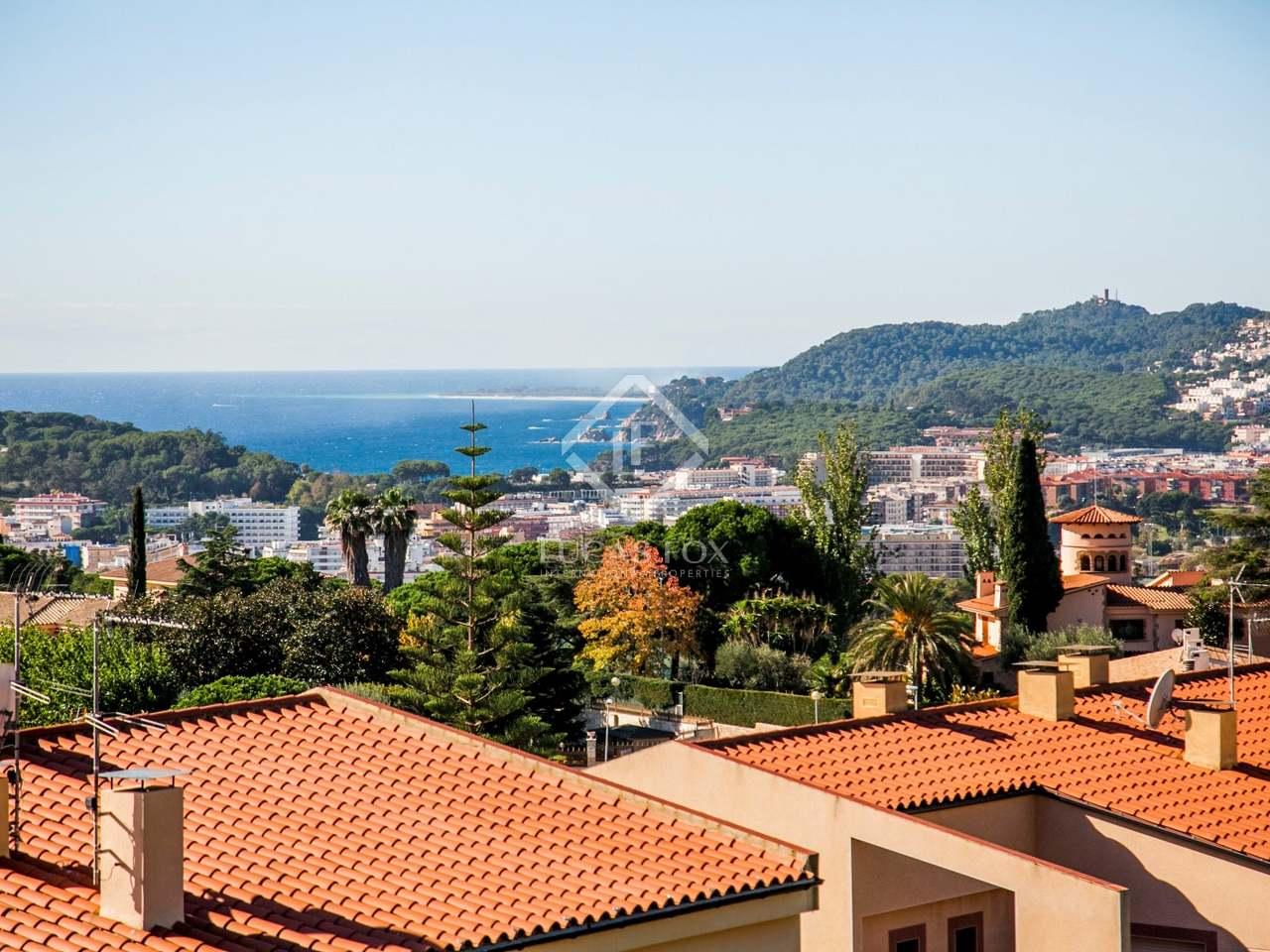Casa con vistas en venta en lloret de mar costa brava - Apartamentos en costa brava ...