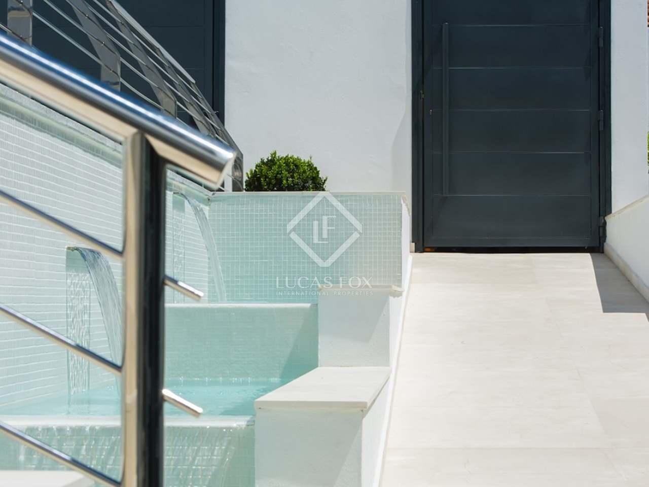 Casa con piscina infinita en venta en la cerquilla - Casa ultramoderna ...