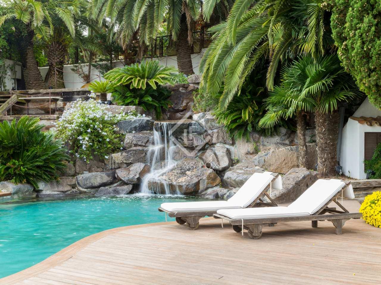 Casa de 450m en alquiler en pedralbes en la zona alta for Casa con jardin barcelona alquiler
