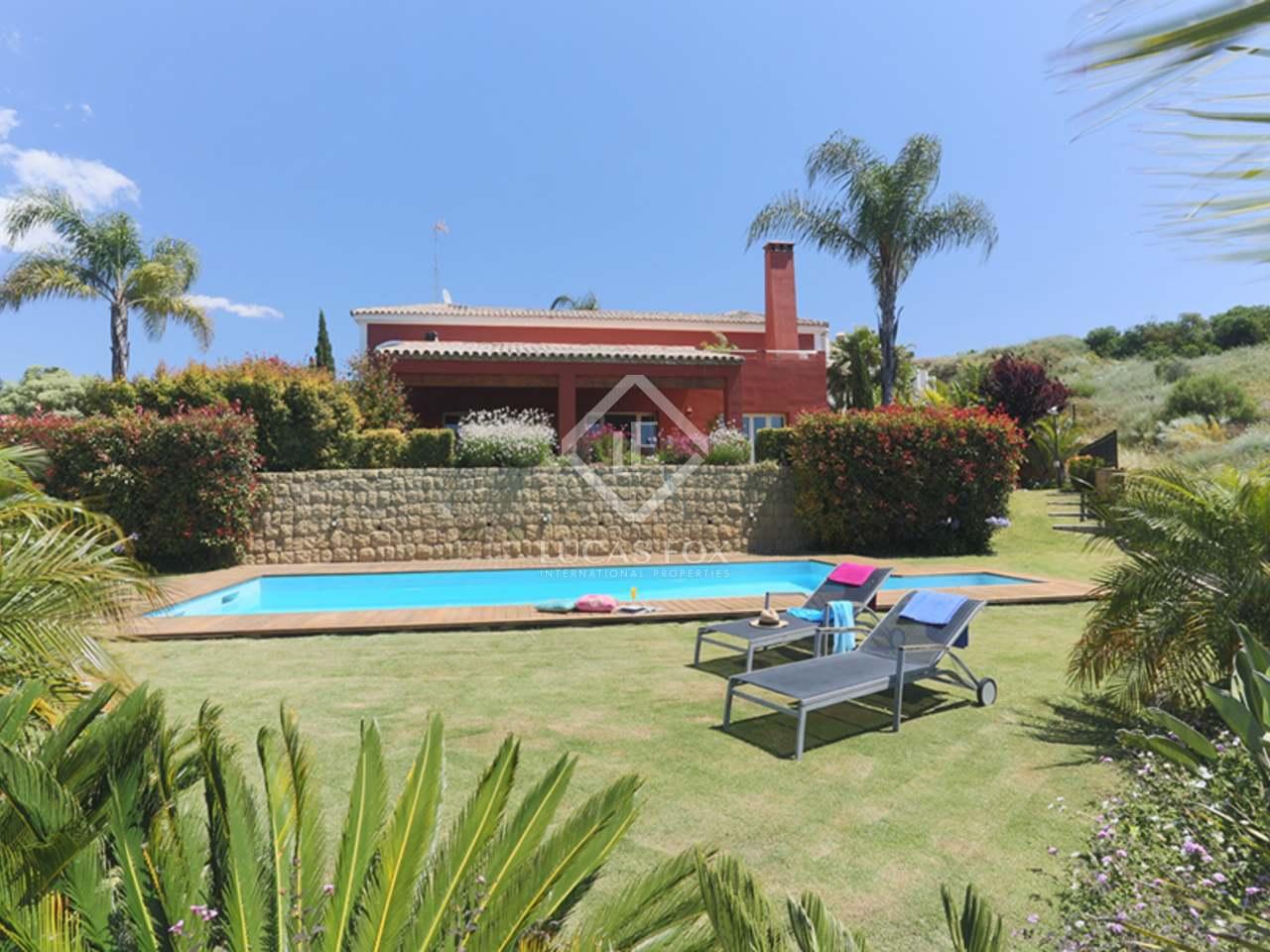 Maison villa de 780m a vendre benahav s avec 1 917m for Jardin anglais caracteristiques