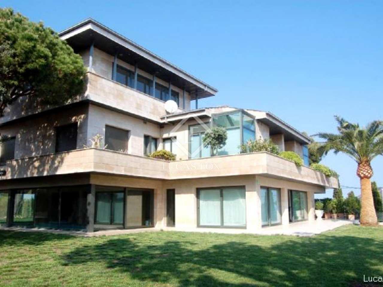 Casa de lujo en venta en castelldefels gav mar barcelona - Casas gava mar ...