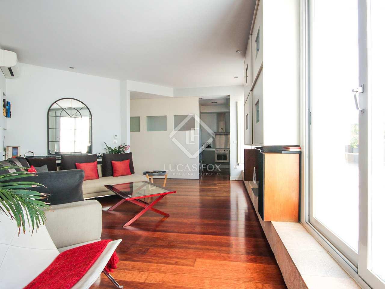Tico de 125m con terraza en alquiler en salamanca madrid - Alquiler plazas de garaje madrid ...