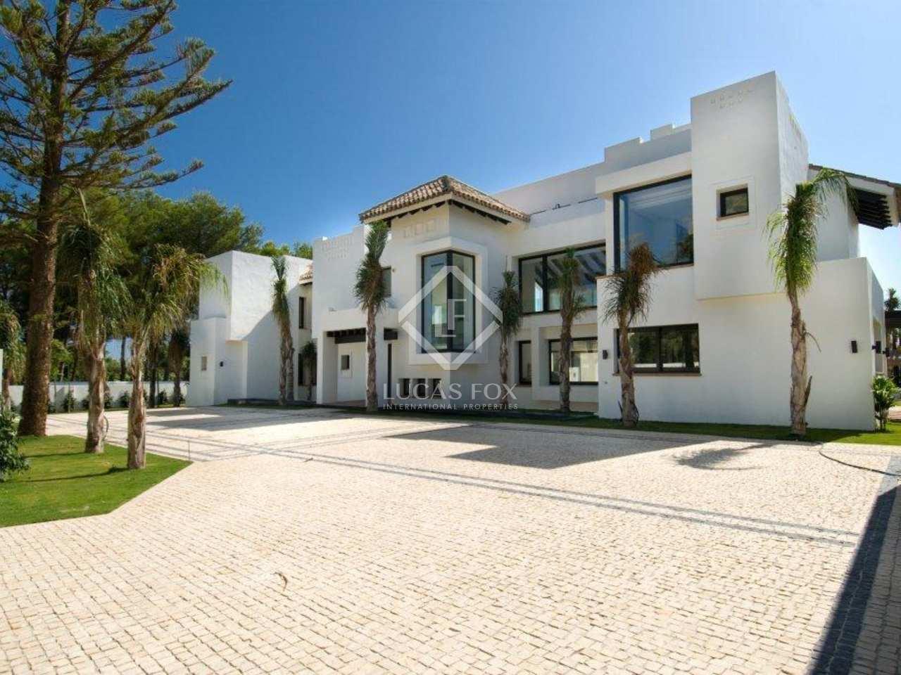 Villa contemporaine de luxe avec 5 chambres à vendre à Guadalmina ...