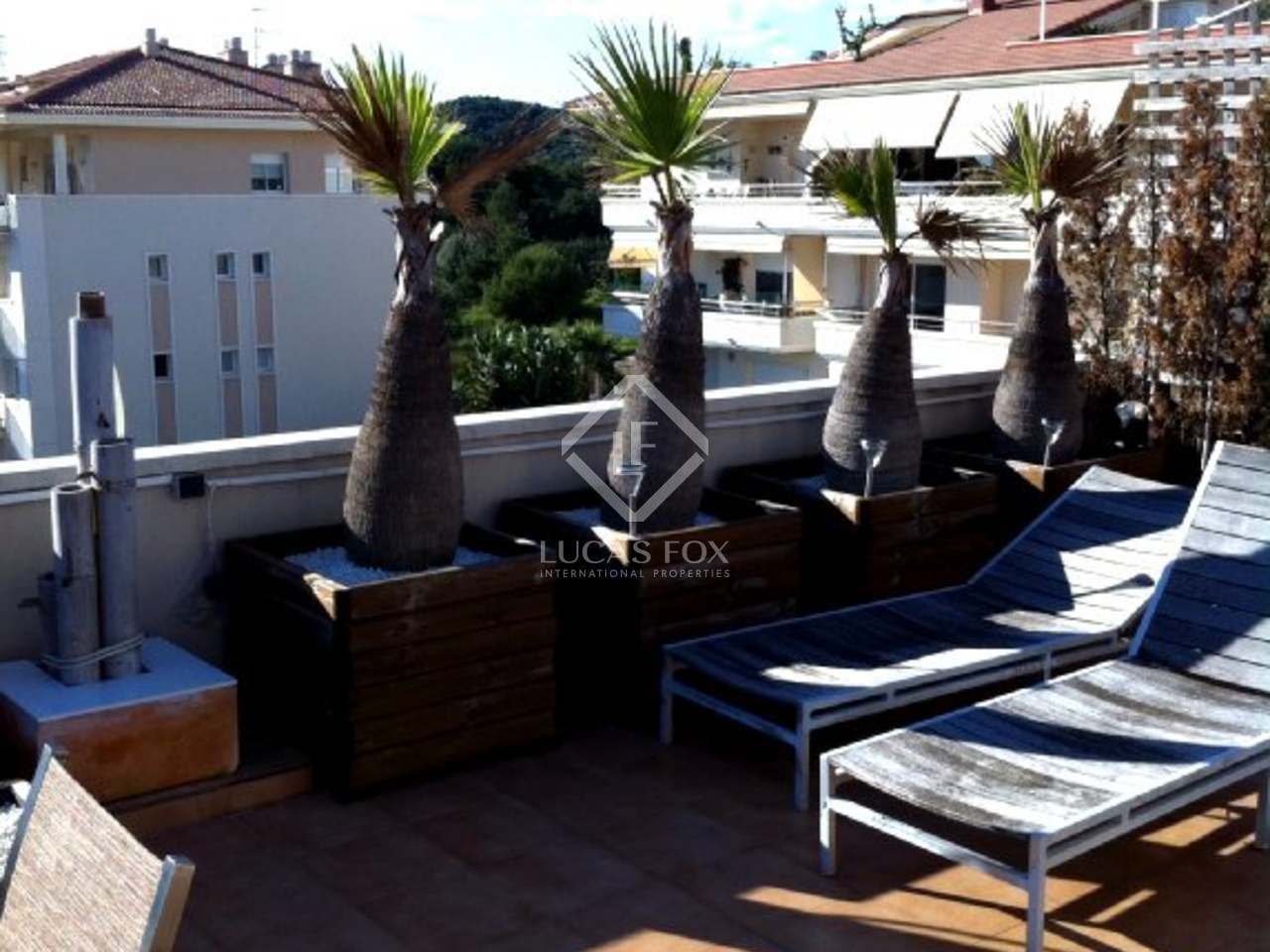 Duplex penthouse apartment for sale in Sitges