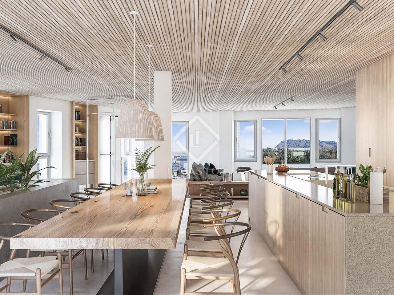 Tico d plex de 250m con vistas de 360 en venta en el born - Atico duplex barcelona ...