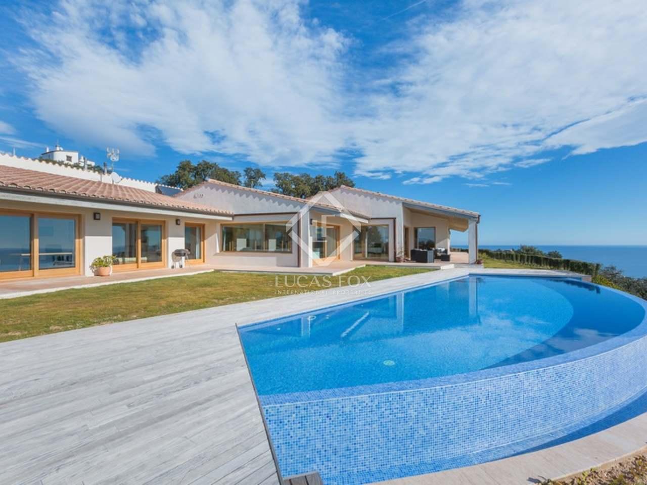 Villa con vista al mar en venta en platja d aro costa brava - Casa playa costa brava ...