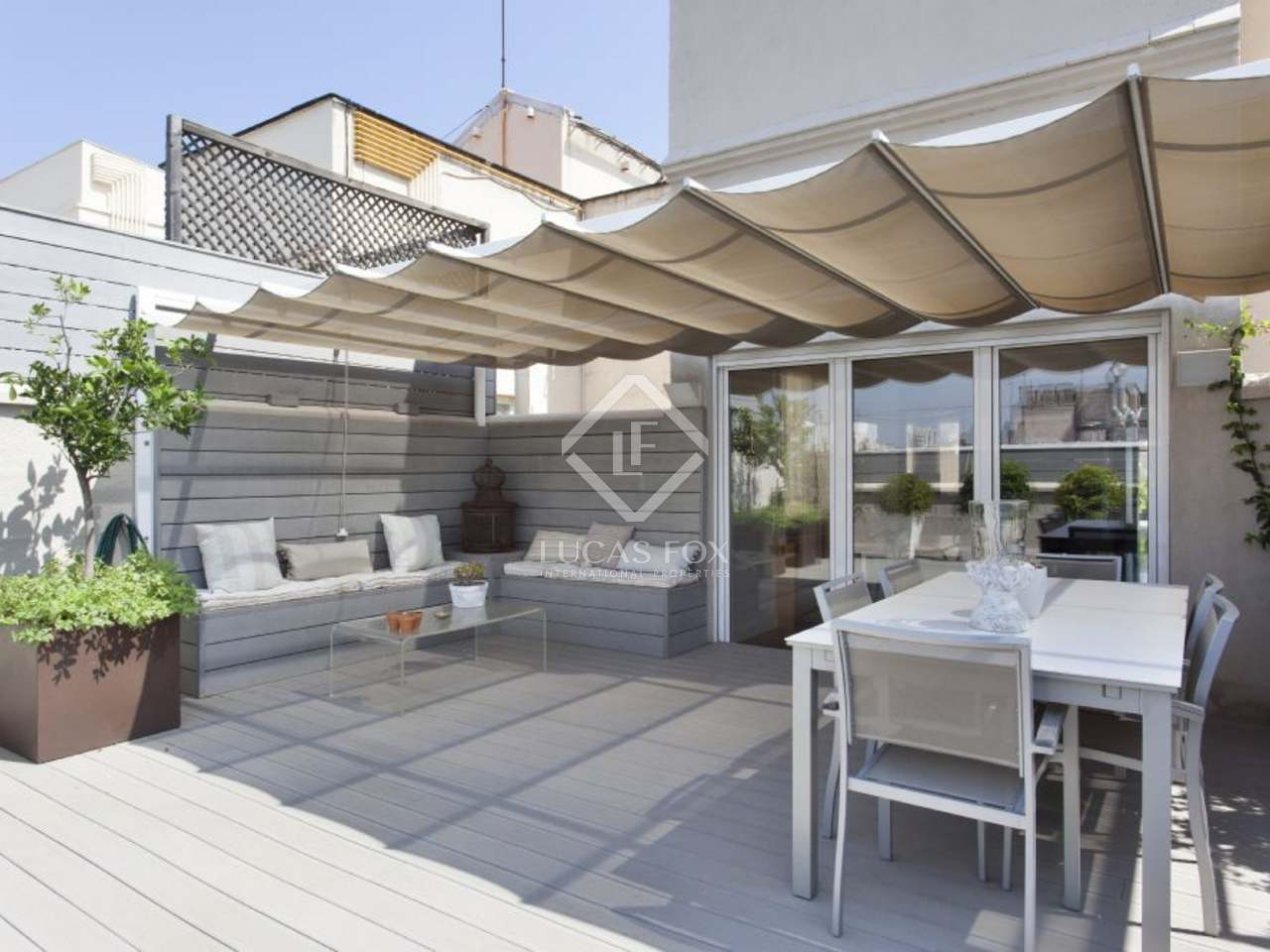 Tico d plex en venta en zona alta de barcelona ciudad - Atico duplex barcelona ...