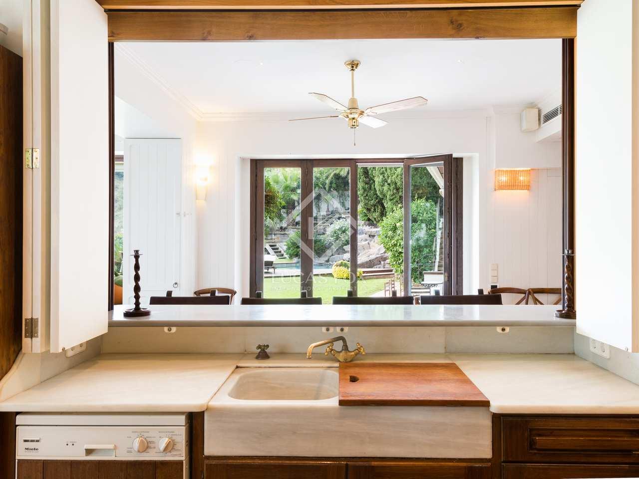 Casa de 450m en alquiler en pedralbes en la zona alta for Alquiler de dormitorios