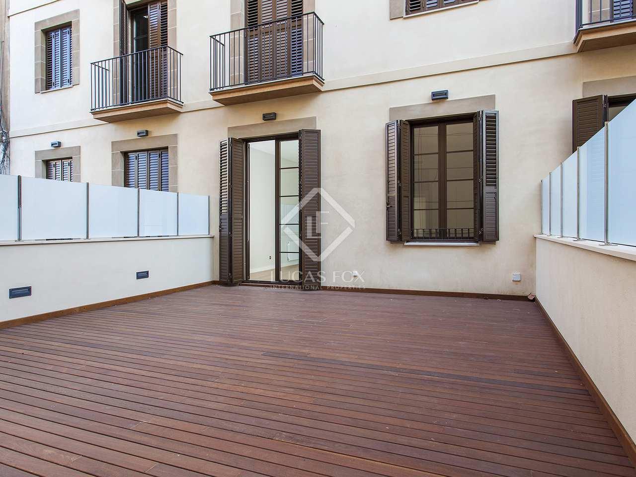 Apartamento de 45m con 50m terraza en alquiler en g tico for Terrazas 1280 a