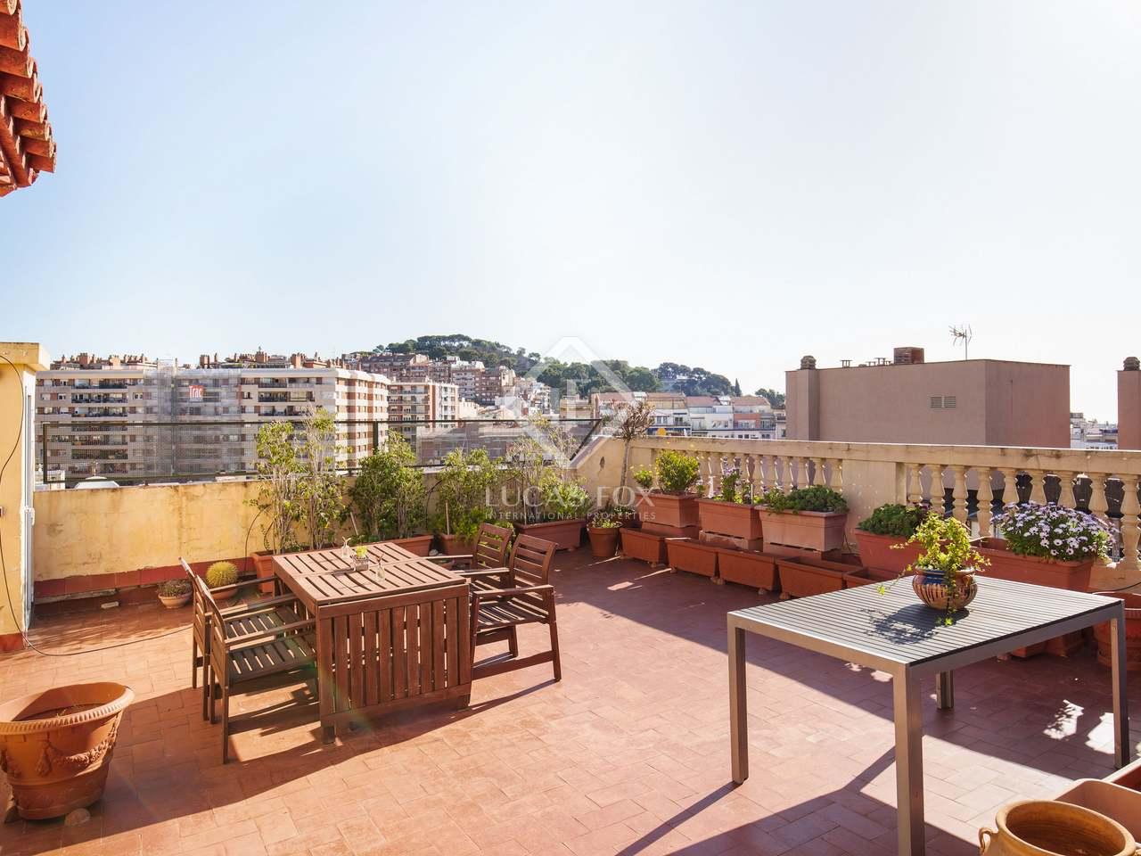 Tico con terraza en venta en sant gervasi - Atico terraza barcelona ...