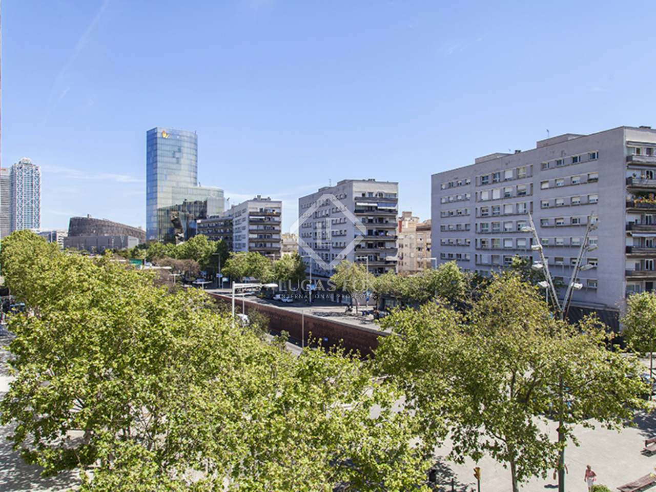 Appartement de 83m a louer barceloneta barcelone for Appartement piscine barcelone