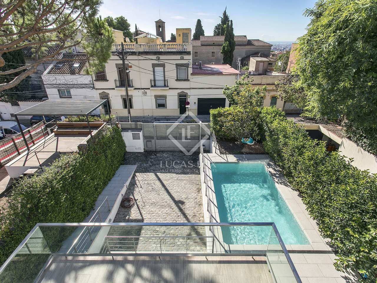 Maison villa de 247m a vendre sant gervasi la for Piscine w barcelone