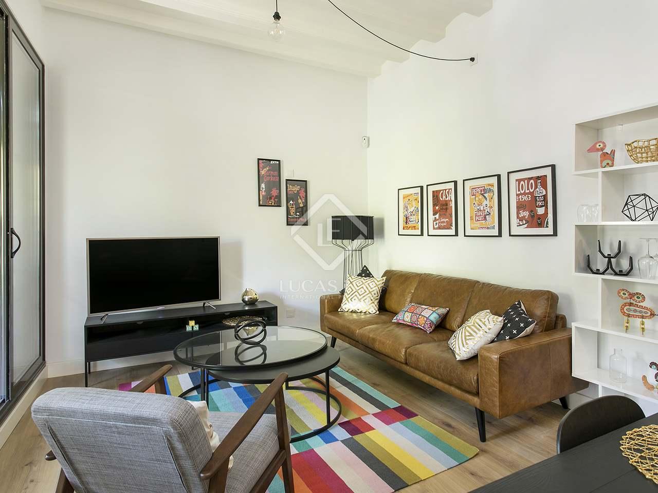 Appartement van 80m² te huur met 15m² terras in El Born
