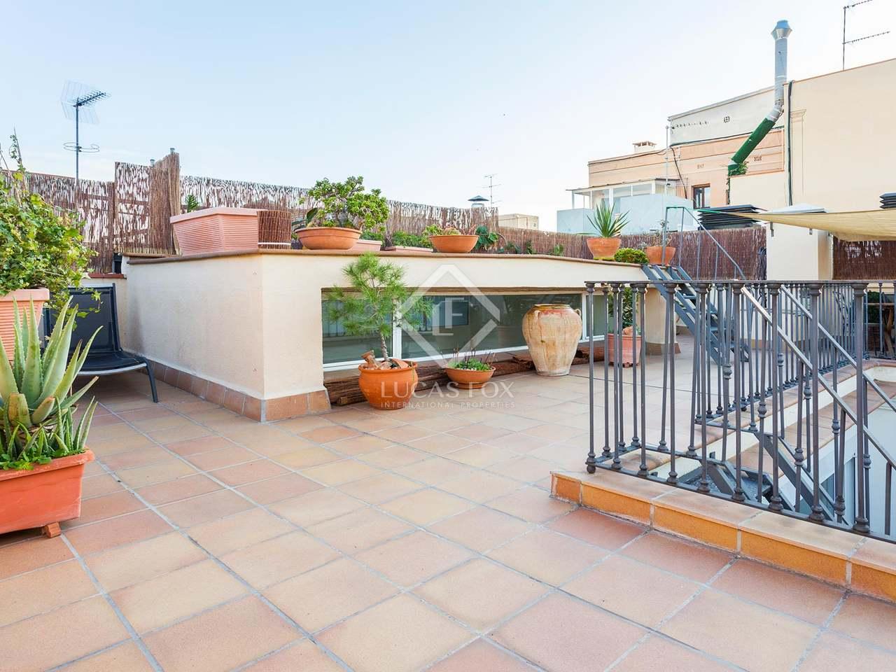 Tico con terrazas en venta en barcelona for Terrazas 1280 a