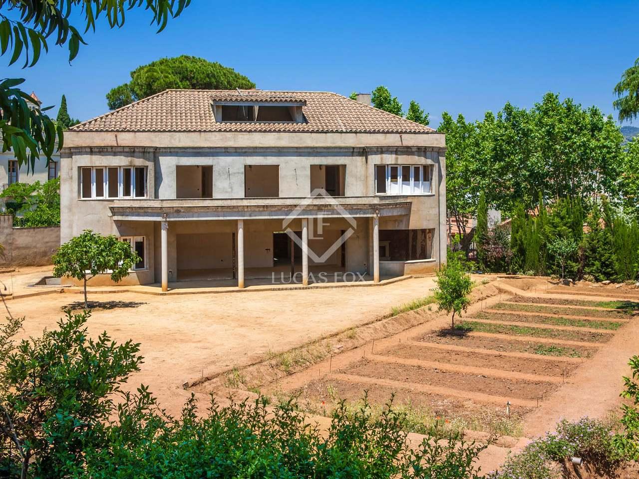 500m haus villa zum verkauf in argentona maresme for Verkauf haus
