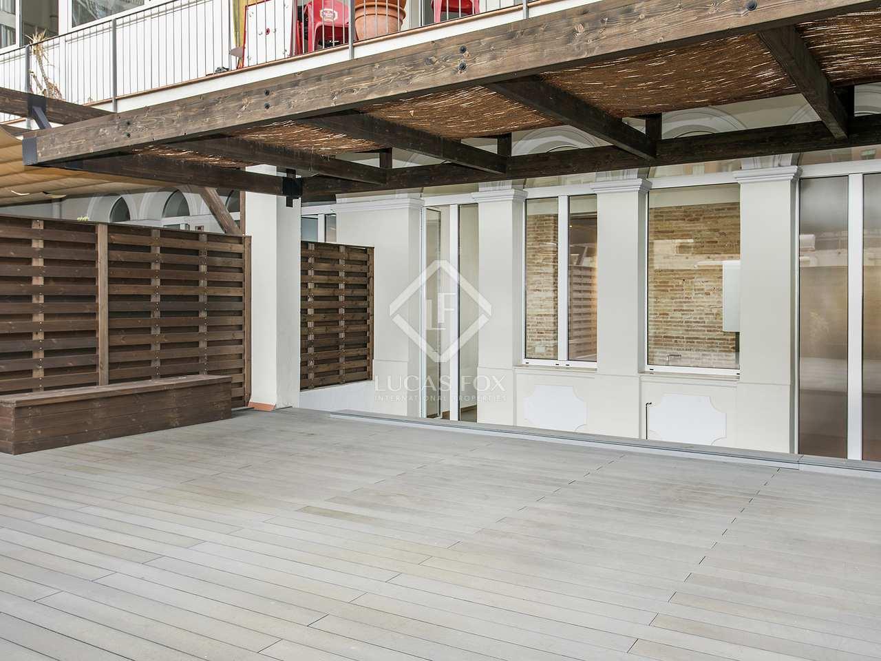 Appartement de 100m a louer eixample droite avec 60m for Appartement a louer a barcelone avec piscine