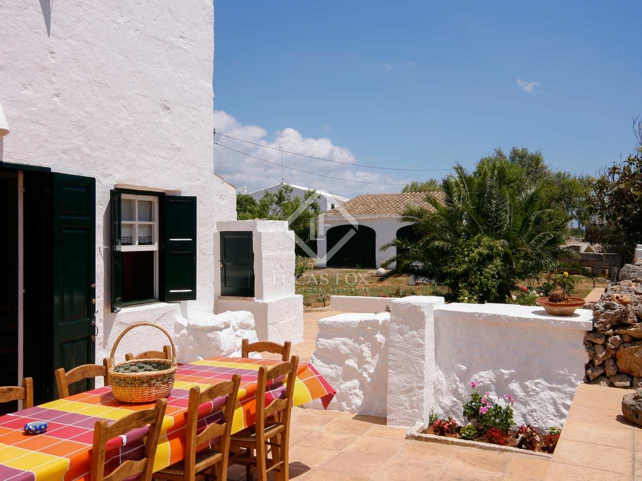 270m landhaus zum verkauf in menorca spanien. Black Bedroom Furniture Sets. Home Design Ideas