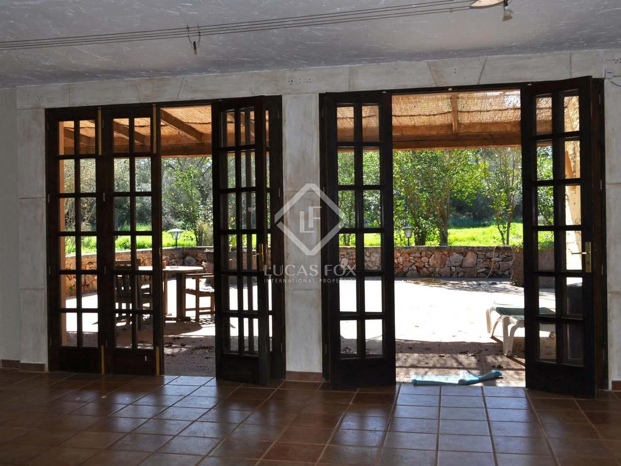 Casa rural de 9 dormitorios en venta en el centro de mallorca - Casa diez dormitorios ...