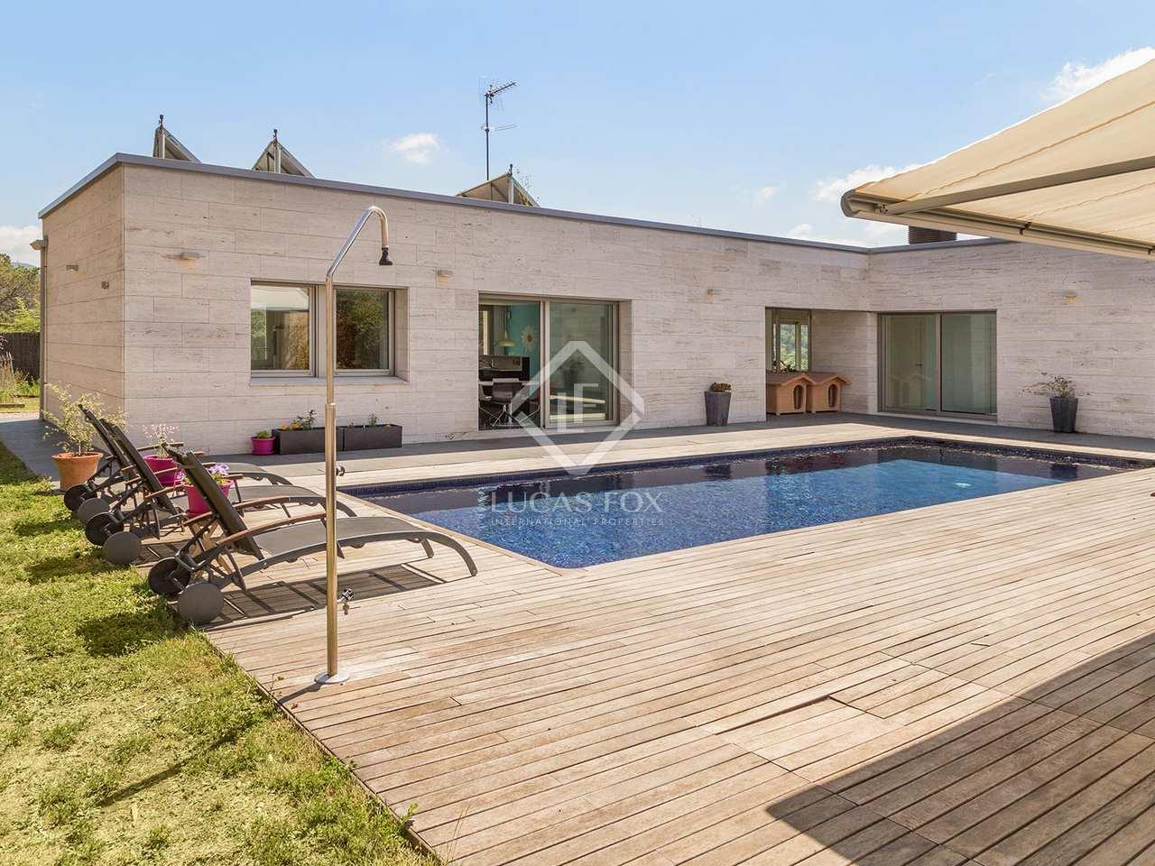 400m haus villa zum verkauf in vallromanes maresme for Verkauf haus