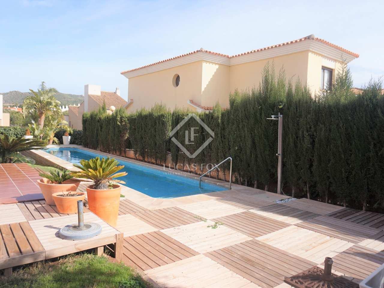 Villa de 395m con jard n y piscina en alquiler en puzol for Piscina jardin valencia