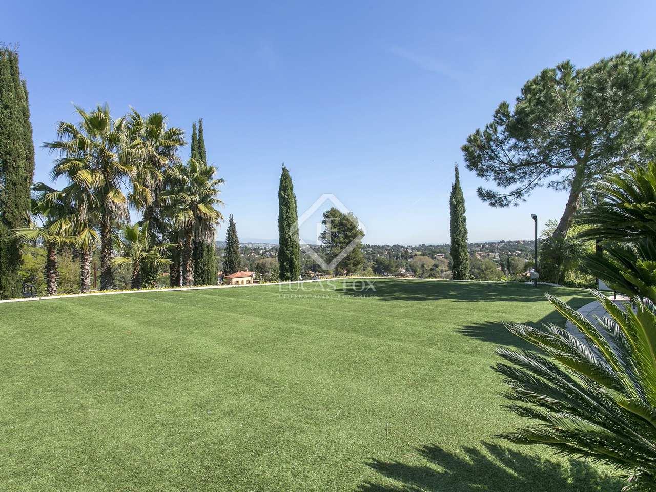 Casa de 5 dormitorios en alquiler en sant cugat barcelona - Residencia jardins de valldoreix ...