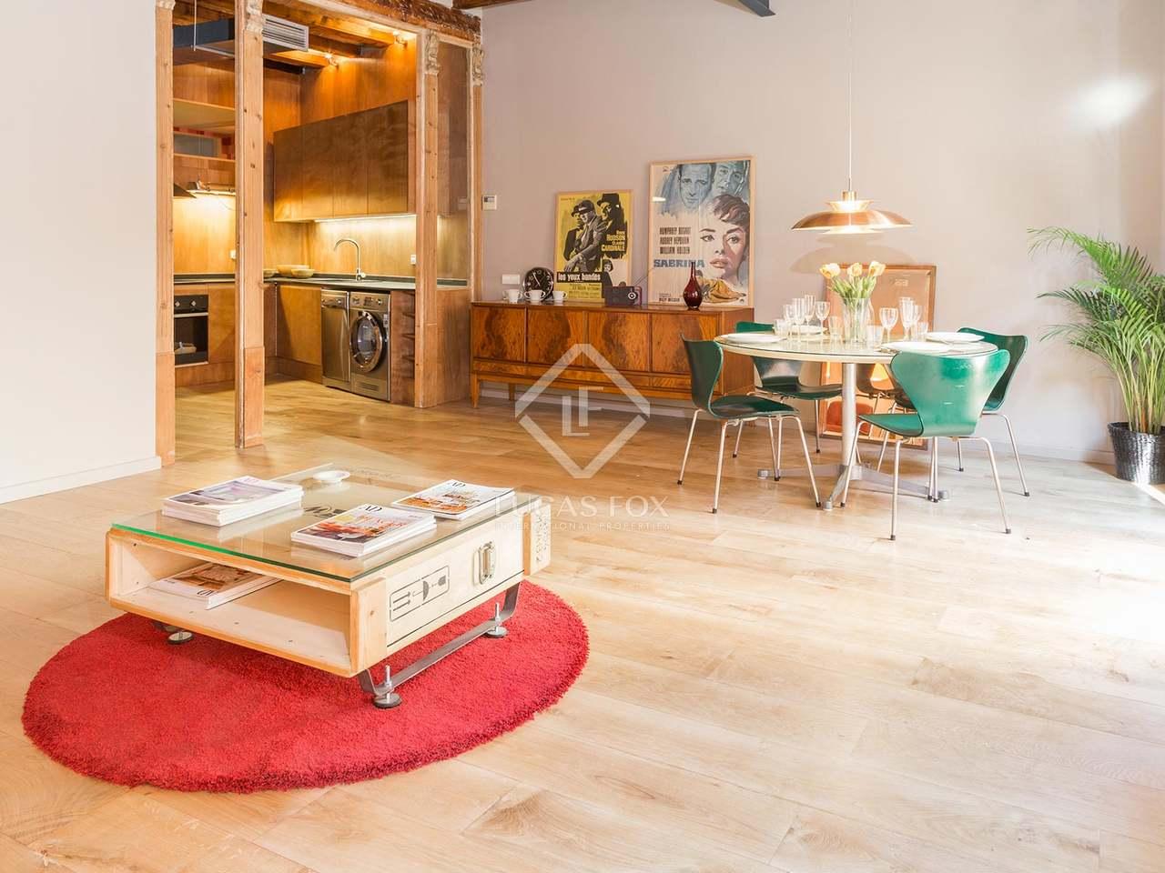 Appartement de 79m a vendre g tico barcelone for Appartement avec piscine barcelone