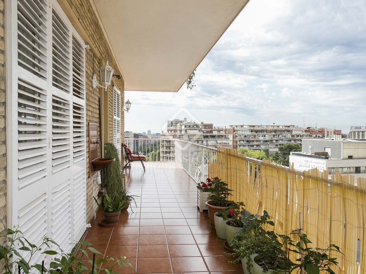 204 m apartment with 40 m terrace for sale in les corts - Zona alta barcelona ...