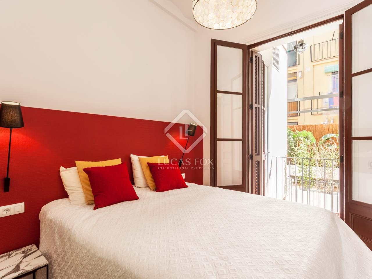 Appartement de 128m a vendre poble sec avec 36m terrasse for Chambre fabulous w barcelone