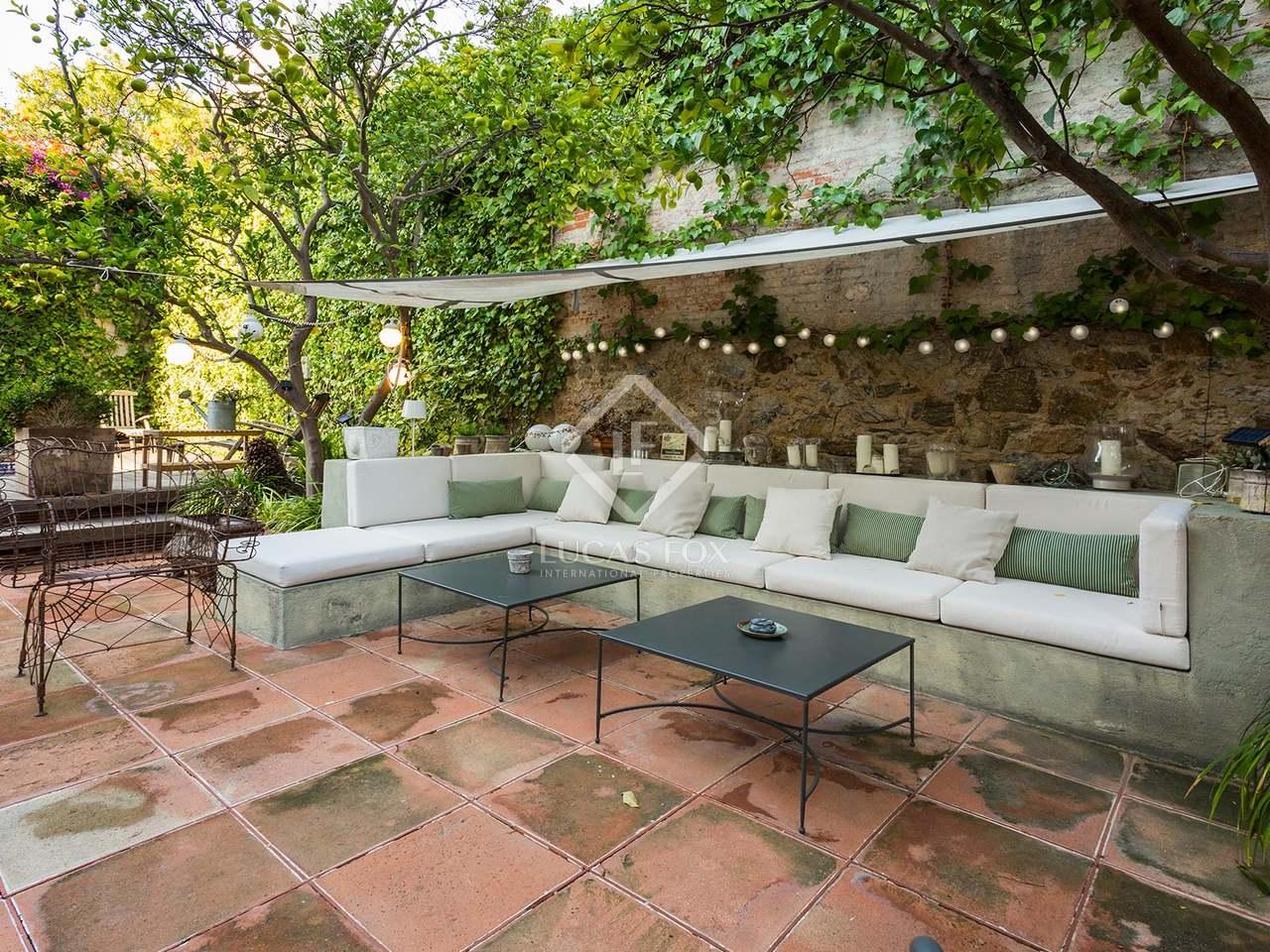 Characterful house with pool for sale zona alta barcelona - Zona alta barcelona ...