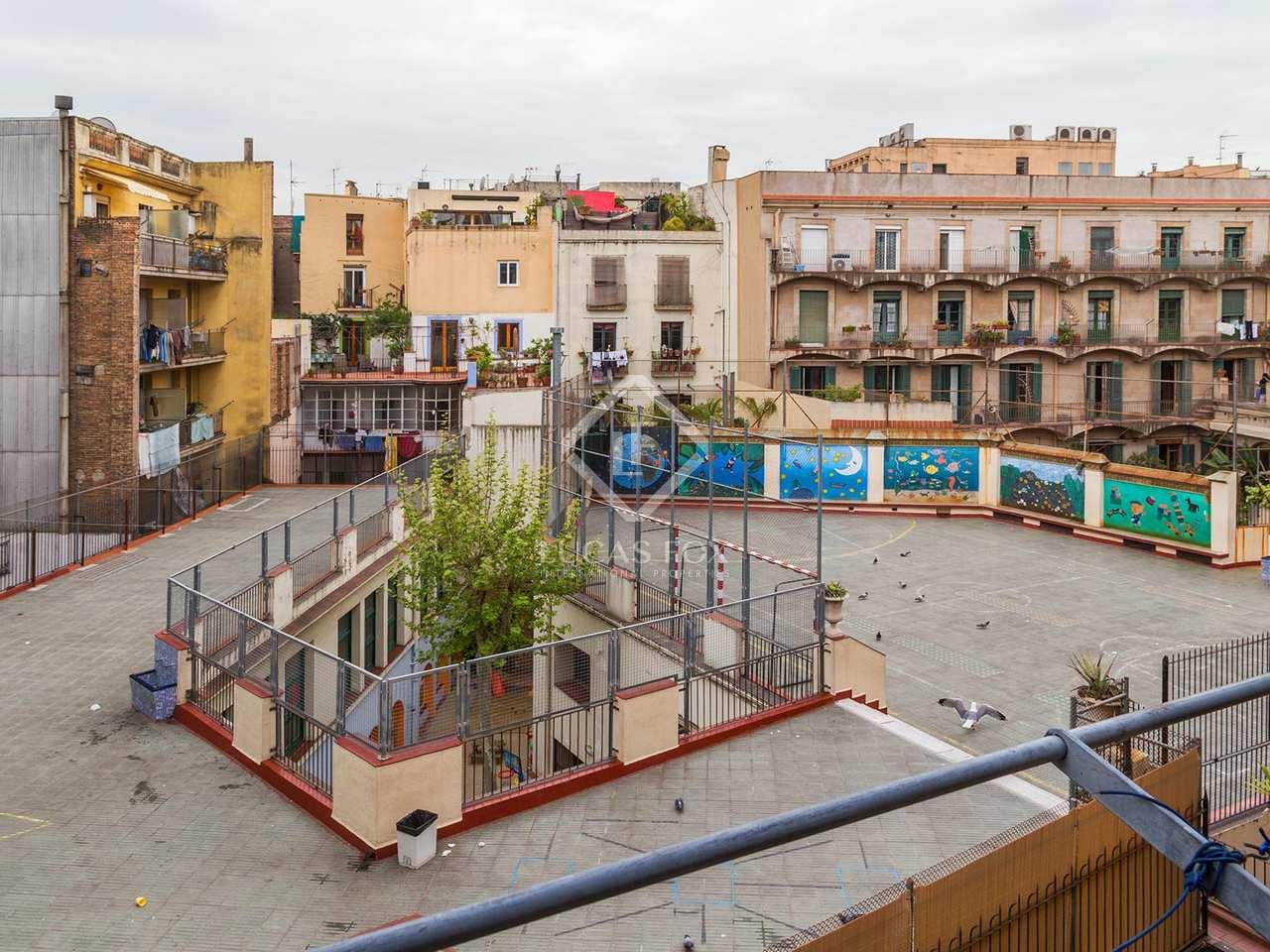 Appartement moderniste avec terrasse en vente dans le quartier gothique de ba - Appartement vente barcelone ...