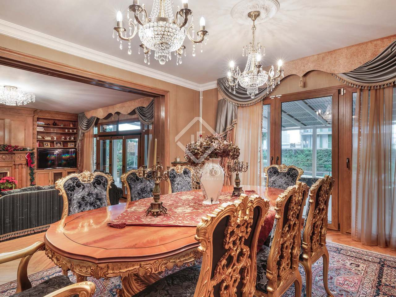 maison villa de 605m a vendre pedralbes barcelone. Black Bedroom Furniture Sets. Home Design Ideas