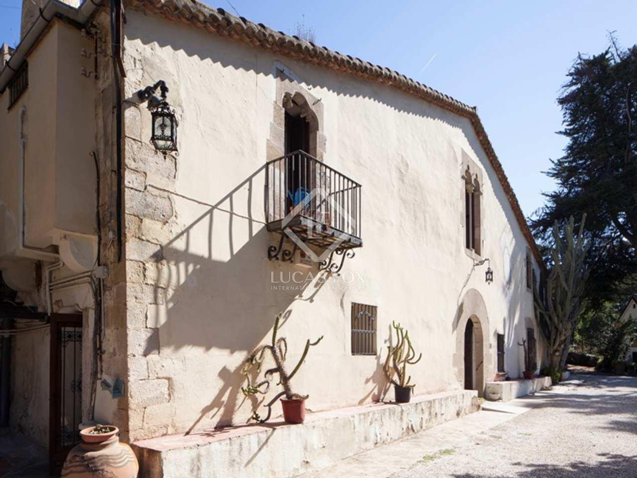 Casa rural en venta en alella en la costa de barcelona for Renovar casa