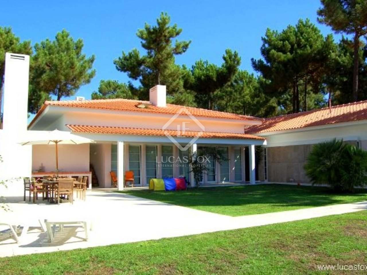 302m haus villa zum verkauf in costa azul portugal. Black Bedroom Furniture Sets. Home Design Ideas
