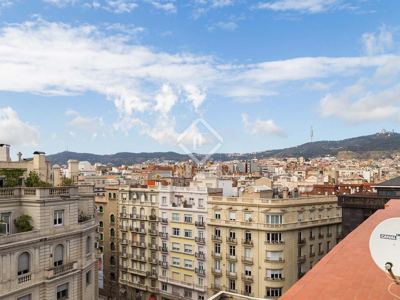 Penthouse for sale in barcelona 39 s zona alta - Zona alta barcelona ...