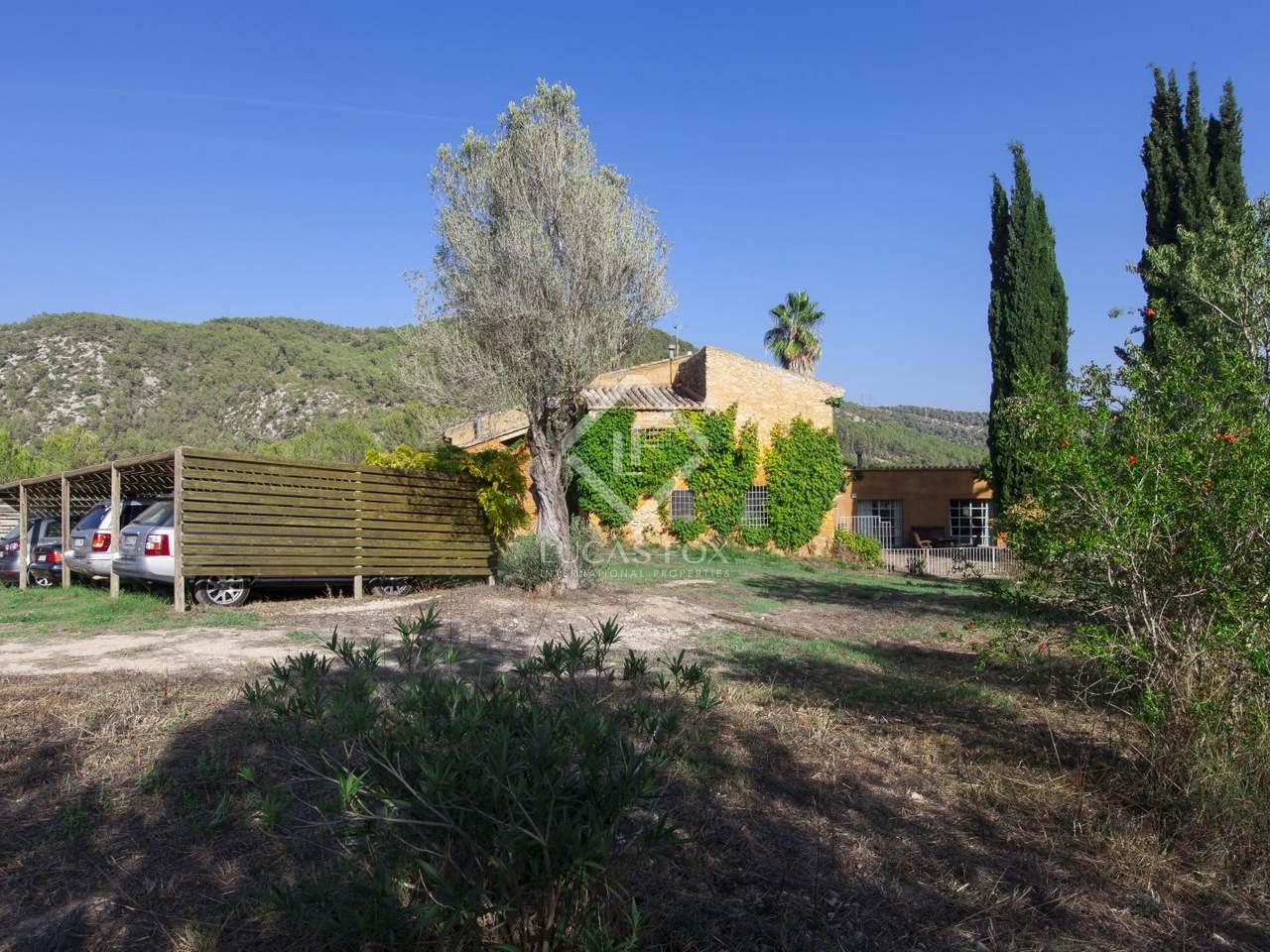 Casa rural con terreno en venta cerca de sitges - Terenes casa rural ...